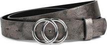styleBREAKER Damen Gürtel Unifarben mit Ringschnalle, Hüftgürtel, Taillengürtel 03010093 – Bild 46