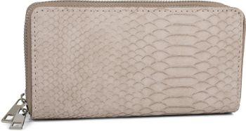 styleBREAKER Damen Geldbörse in Krokodilleder Optik, 2 umlaufende Reißverschlüsse, Portemonnaie 02040126 – Bild 9