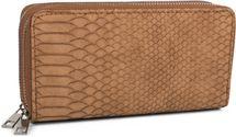 styleBREAKER Damen Geldbörse in Krokodilleder Optik, 2 umlaufende Reißverschlüsse, Portemonnaie 02040126 – Bild 1