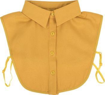 styleBREAKER Damen Blusenkragen Einsatz mit Knopfleiste Unifarben, Kragen für Blusen und Pullover 08020004 – Bild 1