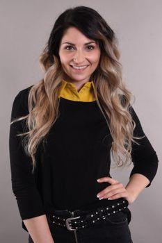 styleBREAKER Damen Blusenkragen Einsatz mit Knopfleiste Unifarben, Kragen für Blusen und Pullover 08020004 – Bild 43