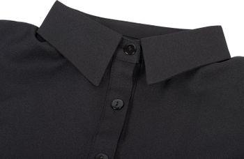 styleBREAKER Damen Blusenkragen Einsatz mit Knopfleiste Unifarben, Kragen für Blusen und Pullover 08020004 – Bild 8