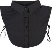 styleBREAKER Damen Blusenkragen Einsatz mit Knopfleiste Unifarben, Kragen für Blusen und Pullover 08020004 – Bild 7