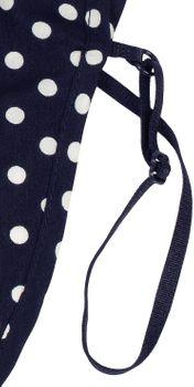 styleBREAKER Damen Blusenkragen Einsatz mit Punkte Muster und Knopfleiste, Kragen für Blusen und Pullover, Rockabilly Style 08020005 – Bild 24