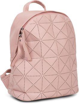 styleBREAKER Damen Rucksack Handtasche mit geometrischen Cutouts, Reißverschluss, Tasche 02012293 – Bild 19