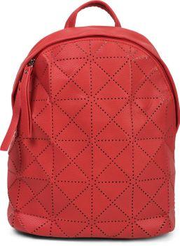 styleBREAKER Damen Rucksack Handtasche mit geometrischen Cutouts, Reißverschluss, Tasche 02012293 – Bild 46