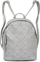 styleBREAKER Damen Rucksack Handtasche mit geometrischen Cutouts, Reißverschluss, Tasche 02012293 – Bild 14