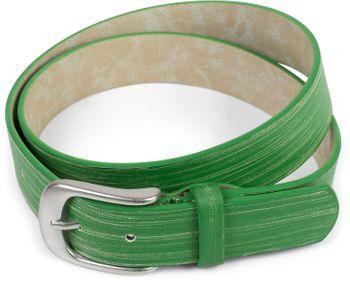 styleBREAKER Gürtel Unifarben mit Oberfläche in Pinselstrich Optik, Vintage Design, Used Look, kürzbar, Unisex 03010098 – Bild 12