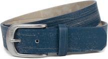 styleBREAKER Gürtel Unifarben mit Oberfläche in Pinselstrich Optik, Vintage Design, Used Look, kürzbar, Unisex 03010098 – Bild 1