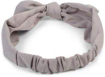 styleBREAKER Damen Haarband einfarbig mit Schleife und Gummizug, Stirnband, Headband, Pinup, Rockabilly, Haarschmuck 04026035 – Bild 8