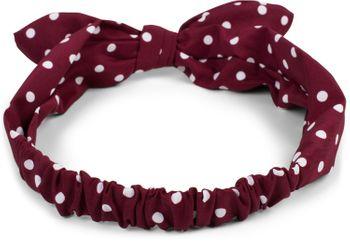 styleBREAKER Damen Haarband mit Punkte Muster, Schleife und Gummizug, Stirnband, Headband, Pinup, Rockabilly, Haarschmuck 04026036 – Bild 4