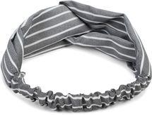 styleBREAKER Damen Haarband mit Streifen Muster, Twist Knoten und Gummizug, Stirnband, Headband, Pinup, Rockabilly 04026038 – Bild 2