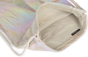 styleBREAKER Turnbeutel mit Oberfläche in irisierender Regenbogen Optik, Rucksack, Sportbeutel, Beutel, Unisex 02012298 – Bild 3