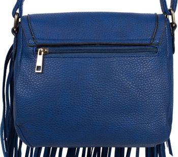 styleBREAKER Damen Umhängetasche mit Fransen und Steckverschluss, Schultertasche, Fringe Bag, Crossbody Bag 02012300 – Bild 21
