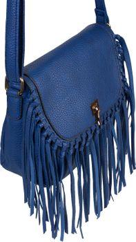 styleBREAKER Damen Umhängetasche mit Fransen und Steckverschluss, Schultertasche, Fringe Bag, Crossbody Bag 02012300 – Bild 22