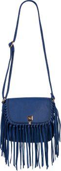 styleBREAKER Damen Umhängetasche mit Fransen und Steckverschluss, Schultertasche, Fringe Bag, Crossbody Bag 02012300 – Bild 19