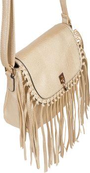 styleBREAKER Damen Umhängetasche mit Fransen und Steckverschluss, Schultertasche, Fringe Bag, Crossbody Bag 02012300 – Bild 28