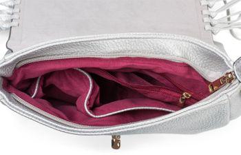 styleBREAKER Damen Umhängetasche mit Fransen und Steckverschluss, Schultertasche, Fringe Bag, Crossbody Bag 02012300 – Bild 18
