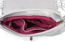 styleBREAKER Damen Umhängetasche mit Fransen und Steckverschluss, Schultertasche, Fringe Bag, Crossbody Bag 02012300 – Bild 12