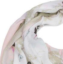 styleBREAKER Damen Schal mit Schmetterling Muster und Stier Skull Aufdruck und Fransen, Tuch 01016178 – Bild 8