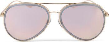 styleBREAKER Unisex Piloten Sonnenbrille mit geschliffenem Rand, verspiegelten Polycarbonat Gläsern und Metall Gestell, Piloten-Brille 09020102 – Bild 17