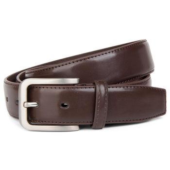 styleBREAKER classic suit belt made ??of genuine leather, shortened 03010029 – Bild 3
