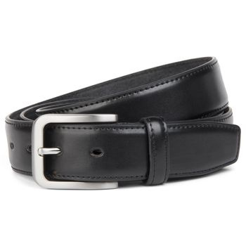 styleBREAKER classic suit belt made ??of genuine leather, shortened 03010029 – Bild 1