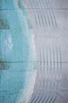 styleBREAKER Damen Schal mit Streifen Struktur Muster Print und Fransen, Tuch 01016180 – Bild 12