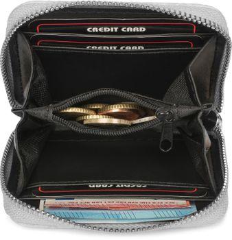 styleBREAKER Damen Mini Geldbörse mit Schlangen Muster, Reißverschluss, Portemonnaie 02040127 – Bild 12