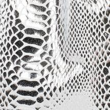 styleBREAKER Turnbeutel mit Oberfläche in Metallic Schlangenleder Optik, Rucksack, Sportbeutel, Beutel, Unisex 02012303 – Bild 9