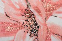 styleBREAKER Damen Schal mit Metallic Blumen Muster, Punkte und Fransen, Tuch 01016183 – Bild 18
