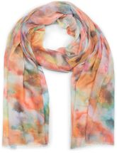 styleBREAKER women scarf with watercolour colour gradient and fringing, shawl 01016185 – Bild 7