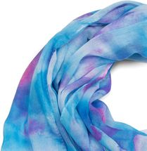 styleBREAKER women scarf with watercolour colour gradient and fringing, shawl 01016185 – Bild 5