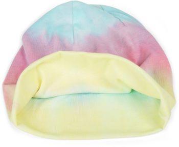 styleBREAKER Unisex Beanie Mütze mit buntem Farbverlauf Streifen Muster, Slouch Longbeanie 04024164 – Bild 3