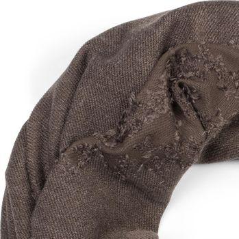styleBREAKER Unisex Loop Schal mit strukturierter Oberfläche im Destroyed Vintage Look, Schlauchschal, Tuch 01016191 – Bild 8