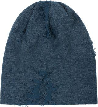 styleBREAKER Unisex Beanie Mütze mit strukturierter Oberfläche im Destroyed Vintage Look, Slouch Longbeanie 04024165 – Bild 1