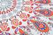 styleBREAKER rechteckiges Strandtuch mit Paisley Ornament Muster und PomPom Borte, Handtuch, Badetuch, Unisex 05050077
