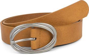 styleBREAKER Damen Gürtel Unifarben mit ovaler verschlungener Doppelschnalle, kürzbar 03010099 – Bild 13