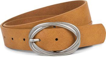 styleBREAKER Damen Gürtel Unifarben mit ovaler verschlungener Doppelschnalle, kürzbar 03010099 – Bild 14