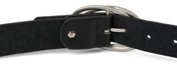 styleBREAKER Damen Gürtel Unifarben mit ovaler verschlungener Doppelschnalle, kürzbar 03010099 – Bild 17