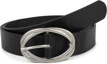 styleBREAKER Damen Gürtel Unifarben mit ovaler verschlungener Doppelschnalle, kürzbar 03010099 – Bild 1