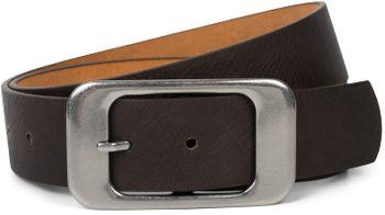 styleBREAKER Unisex Gürtel Unifarben mit großer rechteckiger Schnalle, kürzbar 03010100 – Bild 26
