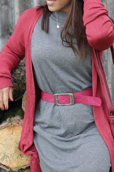 styleBREAKER Unisex Gürtel Unifarben mit großer rechteckiger Schnalle, kürzbar 03010100 – Bild 50