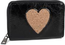 styleBREAKER Damen Mini Geldbörse mit Teddy-Fell Herz, Reißverschluss, Portemonnaie 02040130 – Bild 15