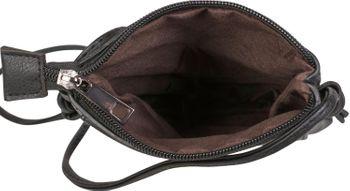 styleBREAKER Damen Mini Bag Umhängetasche mit Cutouts in Ethno Blumen Form und Nieten, Schultertasche, Handtasche, Tasche 02012304 – Bild 26