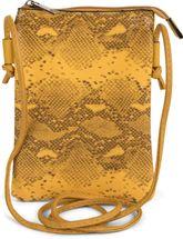 styleBREAKER Damen Mini Bag Umhängetasche in Schlangen Optik, Schultertasche, Handtasche, Tasche 02012305 – Bild 6