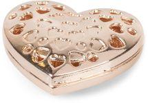 styleBREAKER Damen Magnet Schmuck Brosche in Herz Form mit Strass, für Schals, Tücher oder Ponchos, Anhänger 05050081 – Bild 3