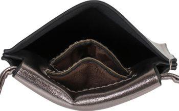 styleBREAKER Damen Handy Umhängetasche in Metallic, Schultertasche, Handy-Tragetasche, Mini Bag 02012307 – Bild 24