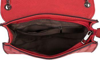 styleBREAKER Damen Umhängetasche mit Ziernähten und Kette, Schultertasche, Handtasche, Tasche 02012308 – Bild 28