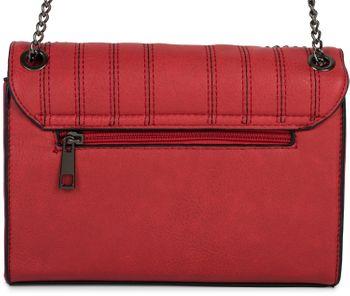 styleBREAKER Damen Umhängetasche mit Ziernähten und Kette, Schultertasche, Handtasche, Tasche 02012308 – Bild 25